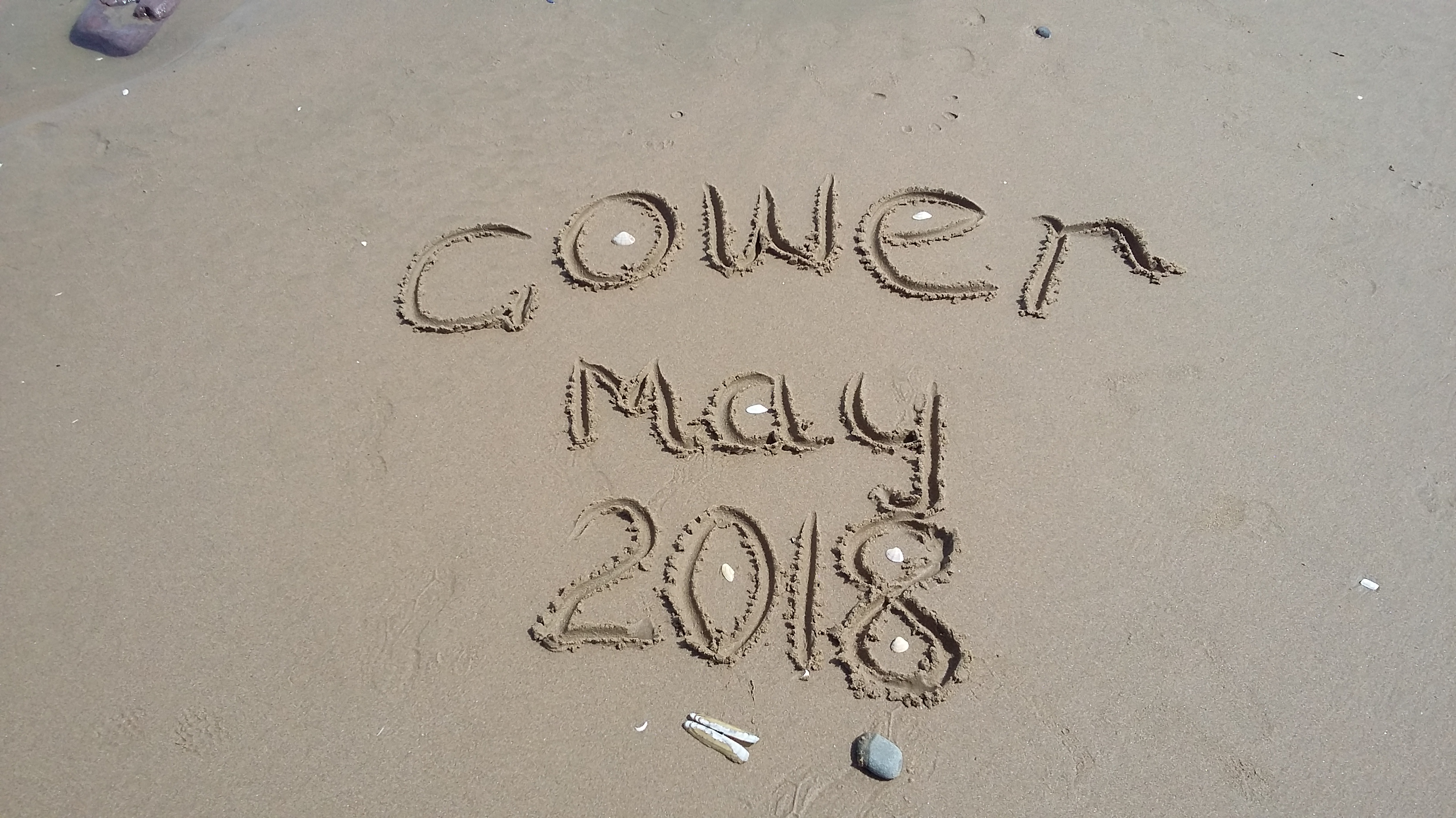 Weeks Camp May 2018 @The Gower